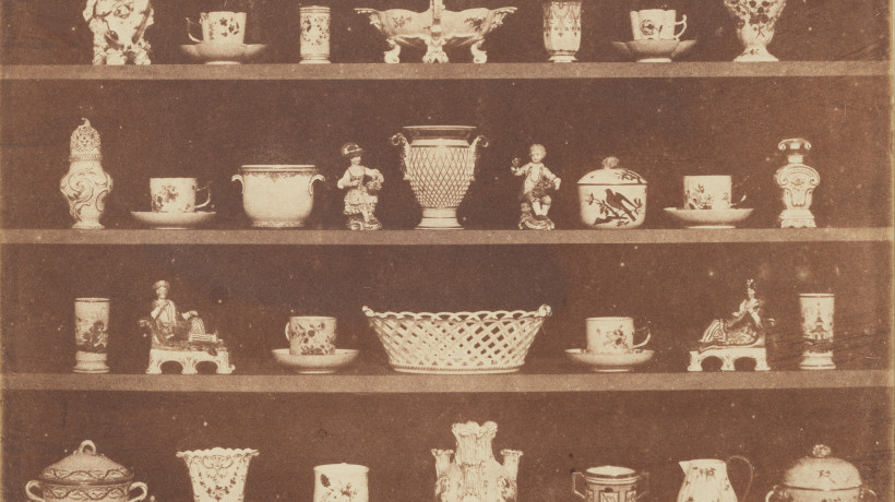 Fig. 4. William Henry Fox Talbot: Articles of China, Plate III from The Pencil of Nature, 1944, calotype.