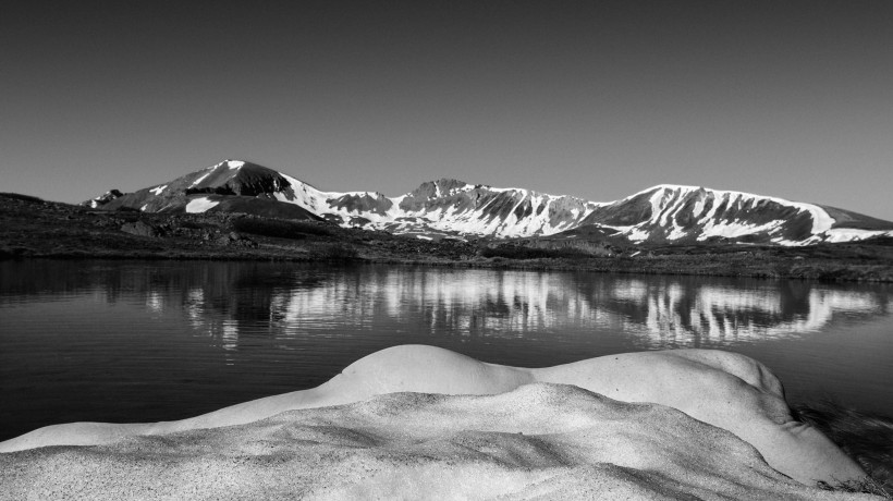 Arno Rafael Minkkinen: Continental Divide at Independence Pass, Colorado, 2013. Courtesy of the author.