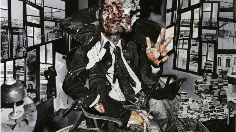 Chambliss Giobbi: Portrait of Fisher Stevens 1, 2007.