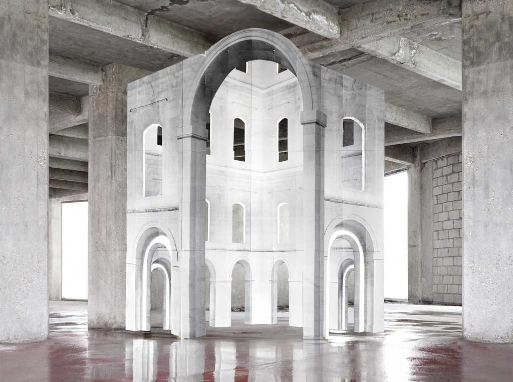 Noémie Goudal: In Search of the First Line III, 2014. Courtesy of the artist.