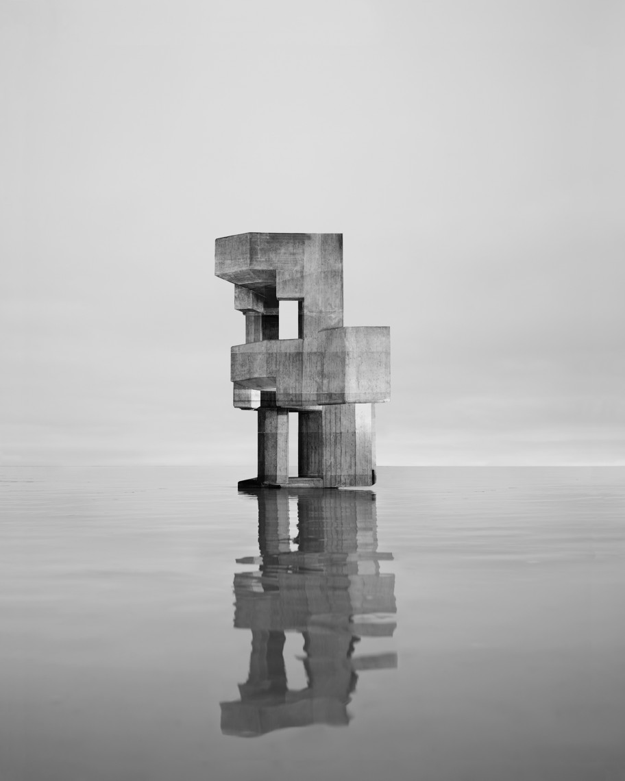 Noémie Goudal: from the series Observatoires, Observatoire VIII, 2014. Courtesy of the artist.