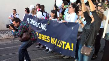 Lisbon, Protest, 2016.