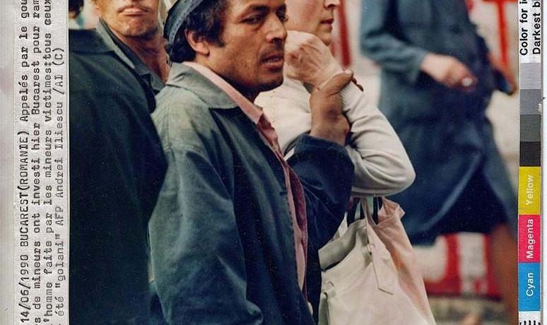 Andrei Iliescu: untitled, June 14, 1990.