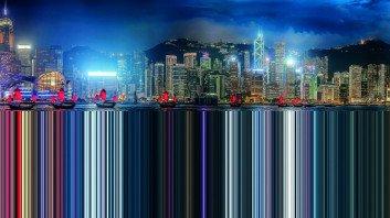 Murat Germen: Facsimile, Hong Kong #5, 2014.