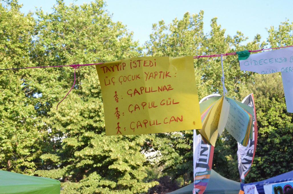 Gezi Park, Istanbul, June 2013. Photo by Stephen Snyder.