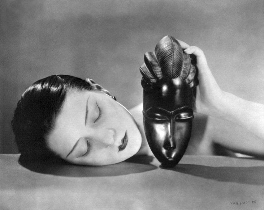 Figure 1. Man Ray, Noire et Blanche (Black and White), 1926, positive.