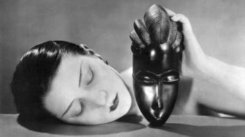 Man Ray, Noire et Blanche (Black and White), 1926, positive.