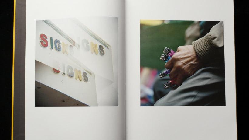 Jason Fulford, Spread from Picture Summer on Kodak Film, 2020.