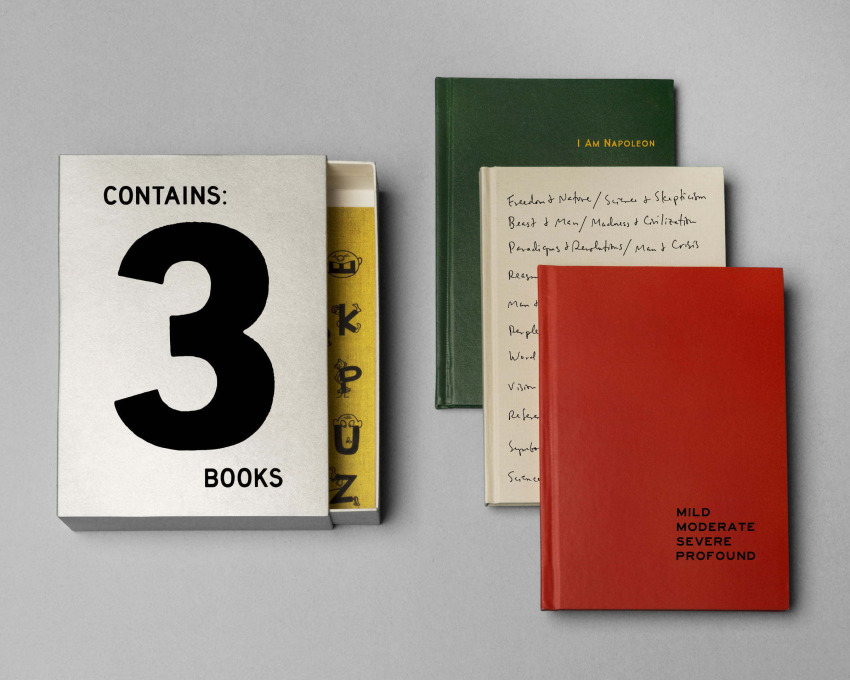 Contains 3 Books, 2016.
