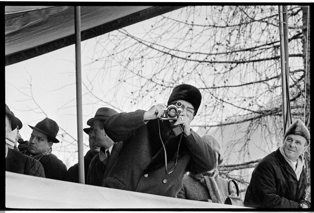 Joco Žnidaršič, Tito in Planica, 1969. Courtesy of Galerija Fotografija. © Joco Žnidaršič