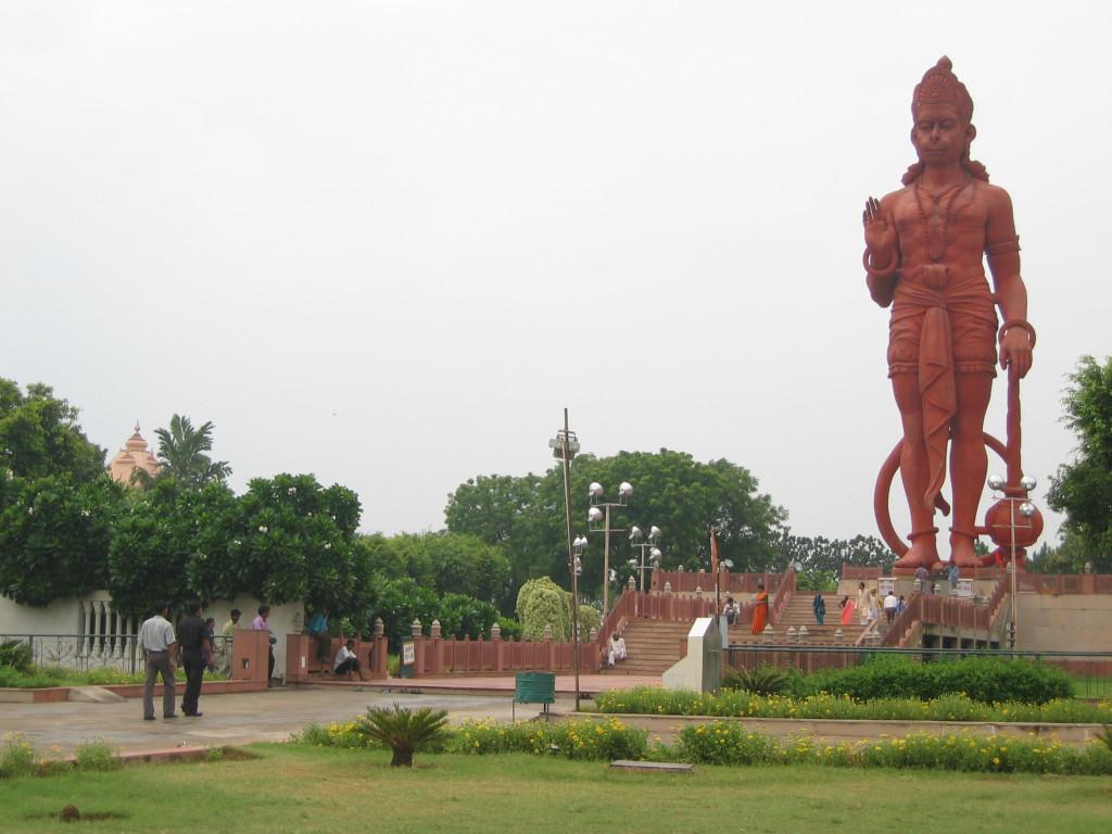 Fig. 3. Mega-statues in India. Courtesy of Kajri Jain.